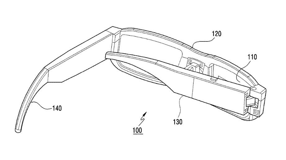حق اختراع عینک واقعیت افزوده سامسونگ