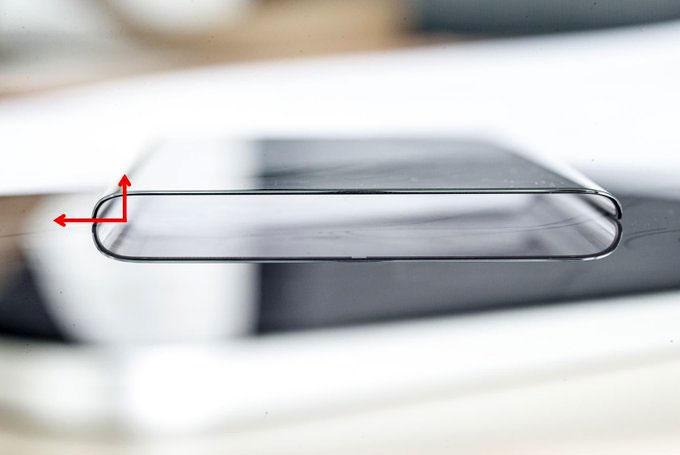 زاویه ۹۰ درجه برای خمیدگی نمایشگر ویوو نکس ۳