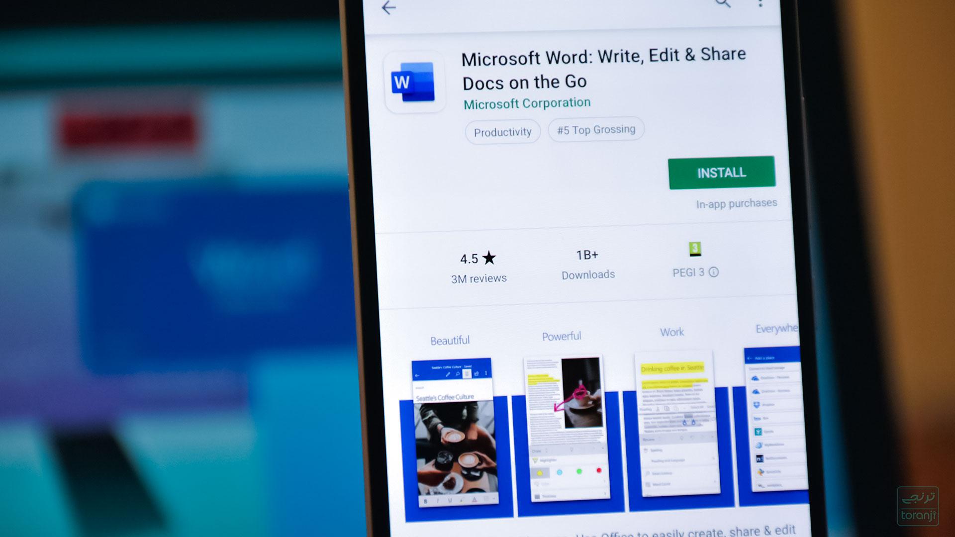 مایکروسافت ورد (Word) روی اندورید از ۱ میلیارد نصب فعال عبور کرد
