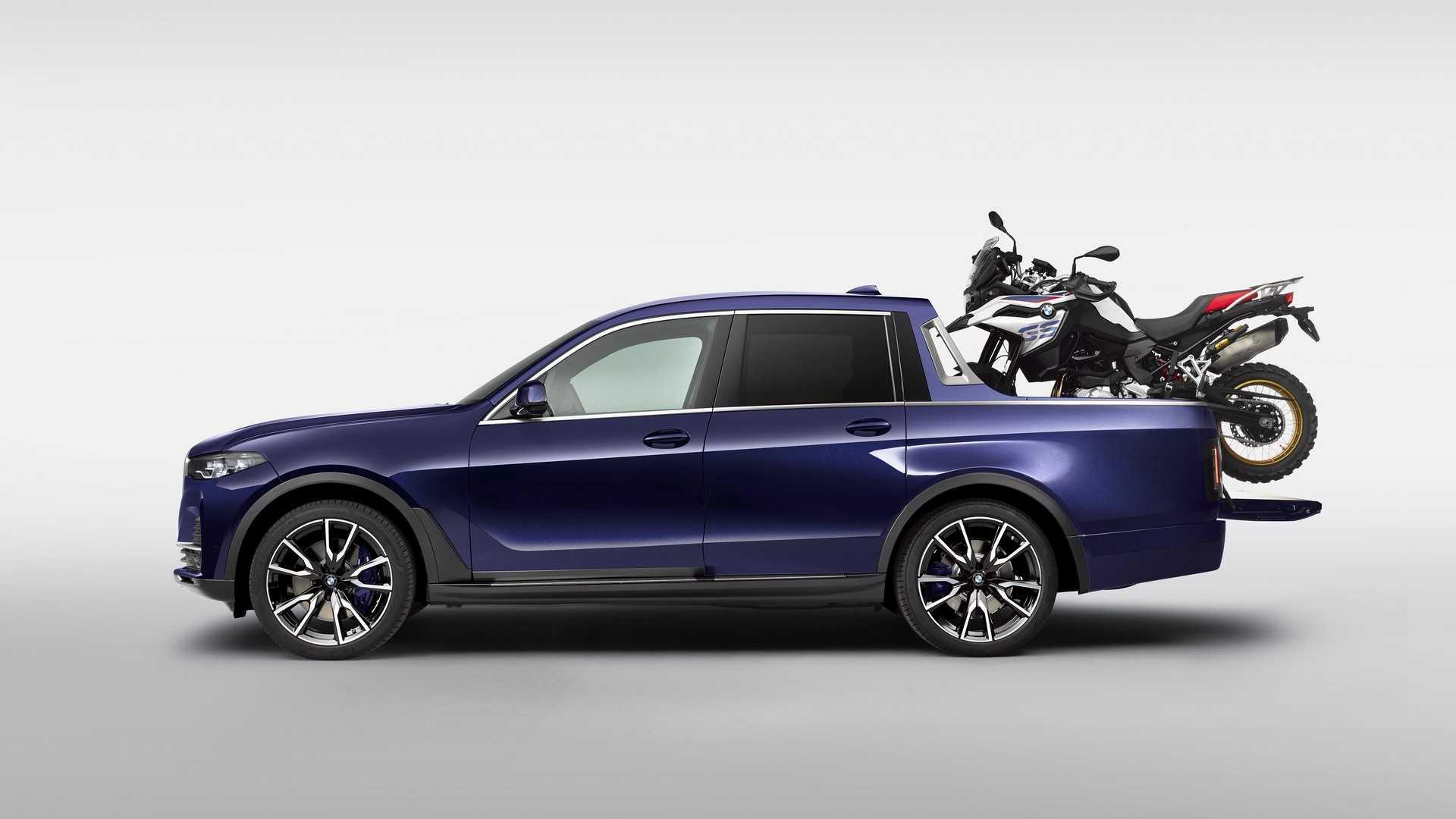 وانت بی ام و ایکس ۷ (BMW X7 Pickup) رسما معرفی شد