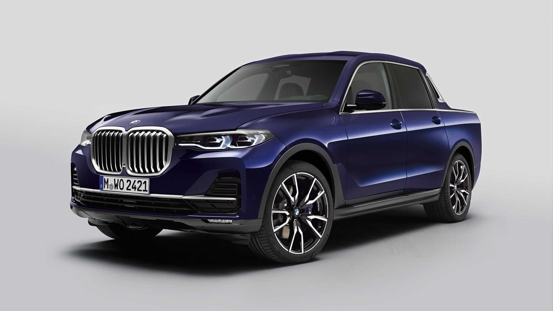 وانت بی ام و ایکس ۷ (BMW X7 Pickup)