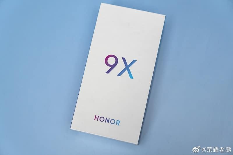 جعبه آنر ۹ ایکس (Honor 9X)