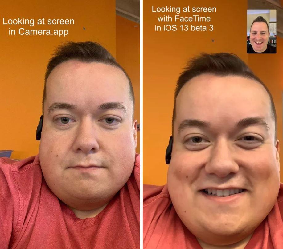 فیس تایم در iOS 13 بتا ۳
