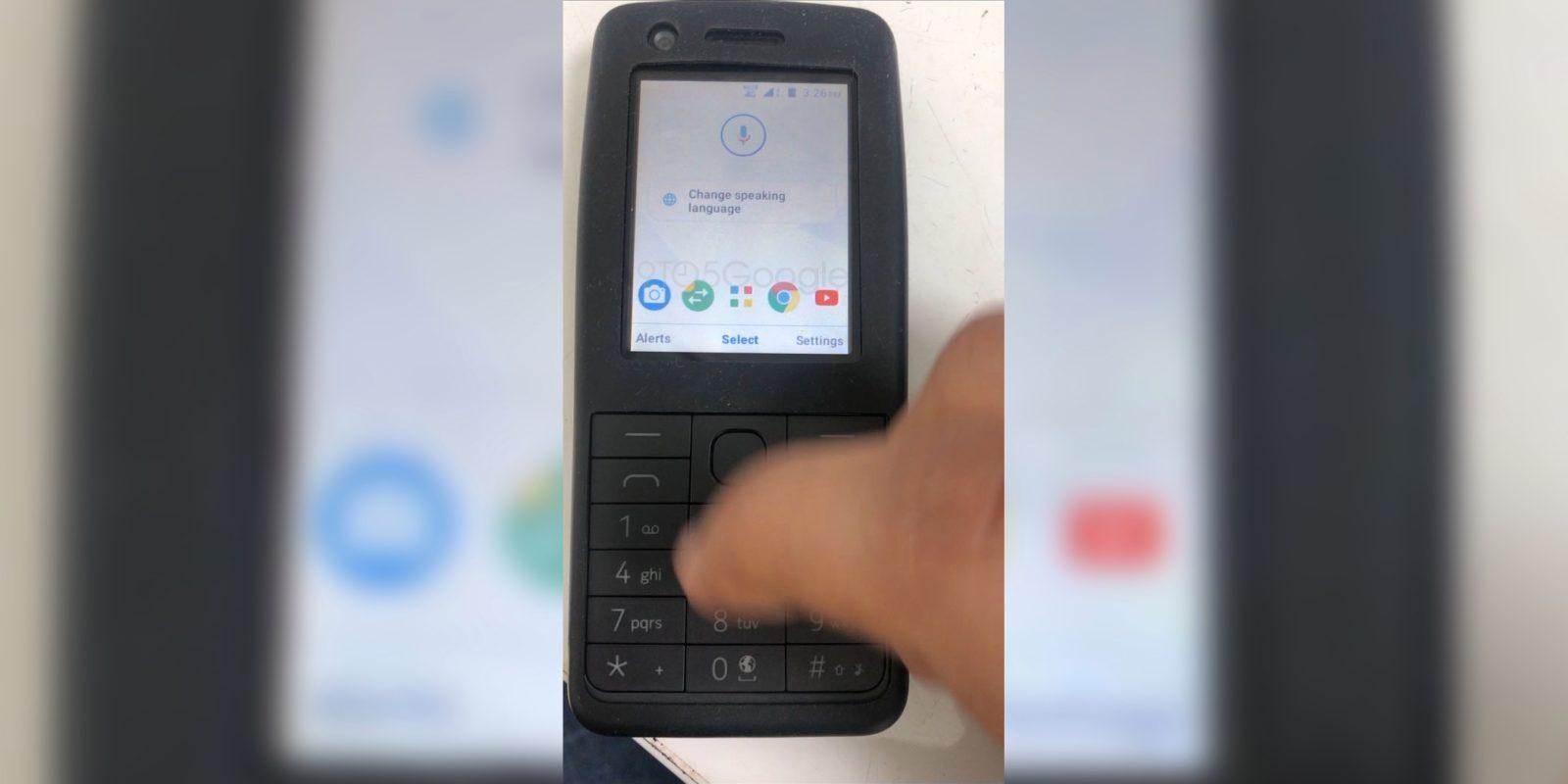 یک موبایل ساده نوکیا با نسخه ویژه اندروید برای فیچرفونها دیده شد