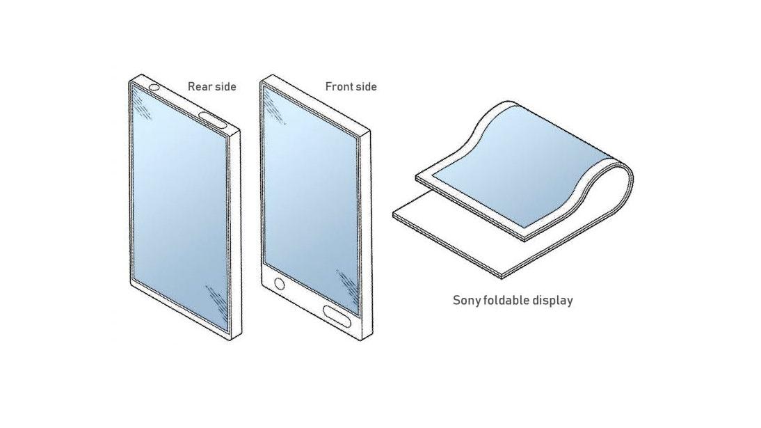 حق اختراع موبایل تاشو سونی