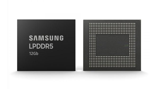 سامسونگ تولید حافظه DDDR5 رم ۱۲ گیگابایت برای موبایل را آغاز کرد