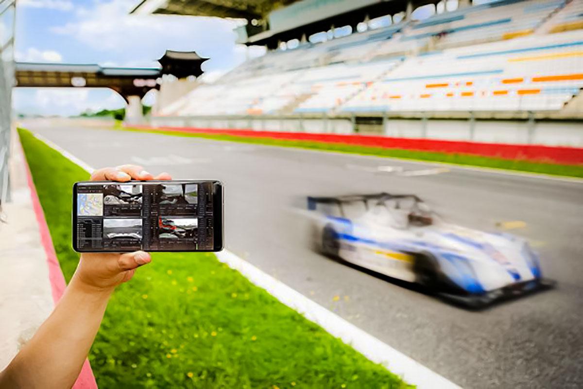 تست سرعت شبکه 5G توسط سامسونگ درون یک ماشین مسابقه ای با سرعت ۲۱۳ کیلومتر بر ساعت