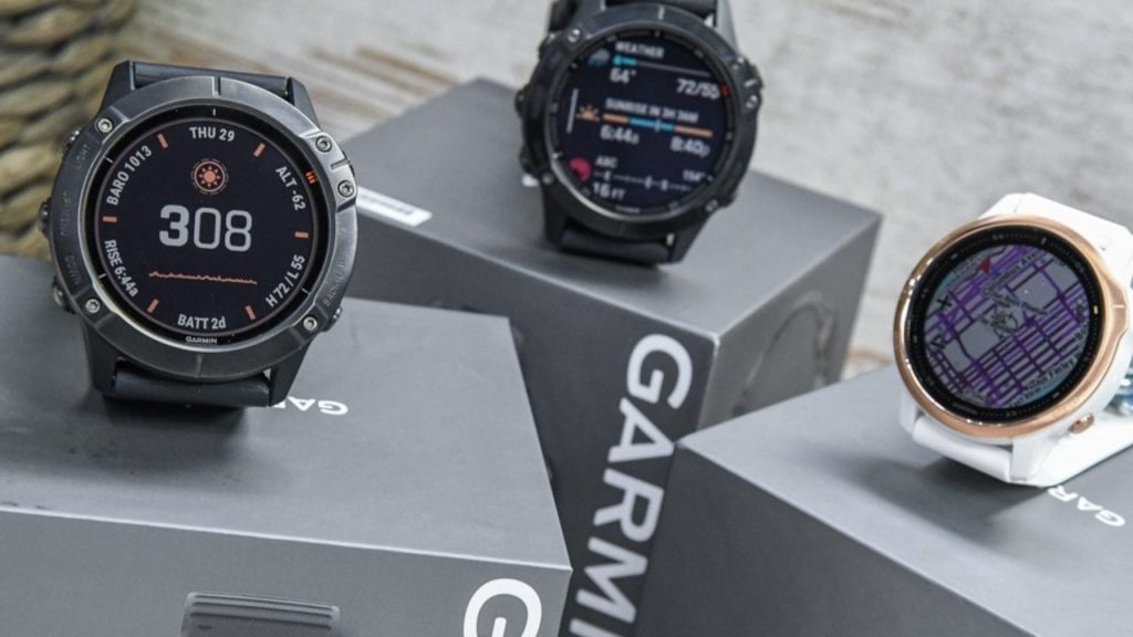 ساعت هوشمند خورشیدی گارمین Fenix 6X Pro Solar