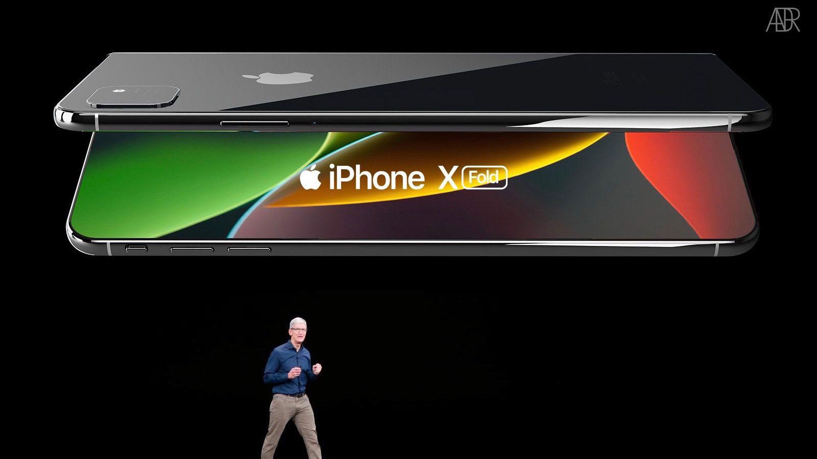 دستگاه های تاشو اپل در راهند، ابتدا آیپد و سپس آیفون