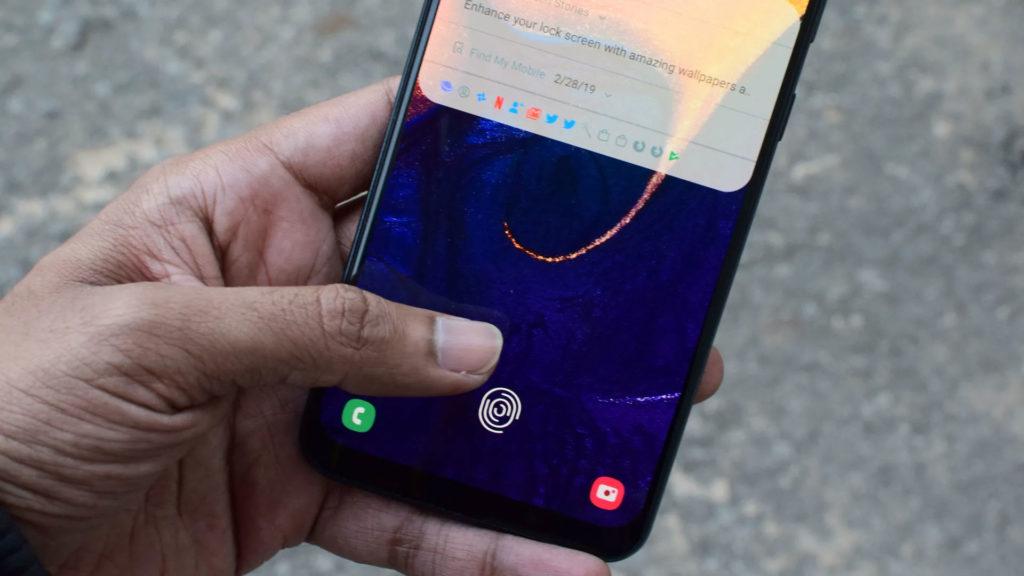 آپدیت گلکسی ای ۵۰ (Galaxy A50)