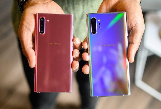 گلکسی نوت ۱۰ (Galaxy Note 10) به همراه گلکسی نوت ۱۰ پلاس
