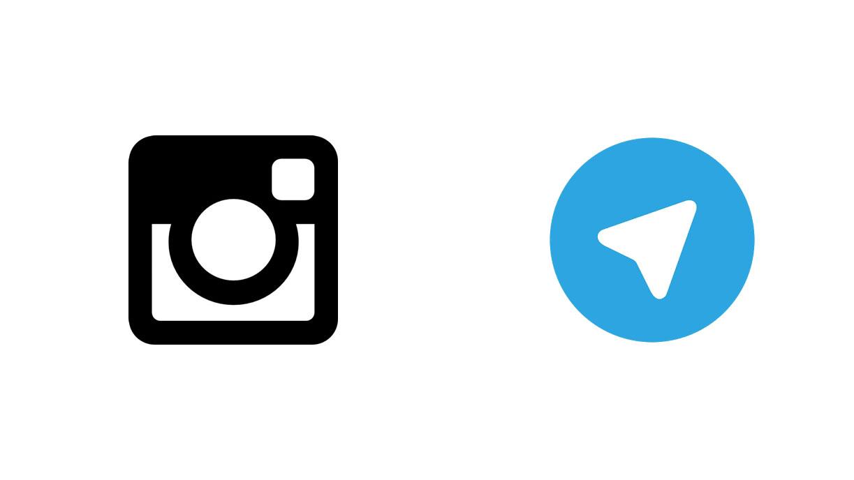 تلگرام و اینستاگرام