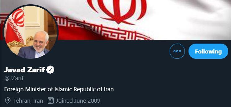 صفحات توییتر و اینستاگرام محمدجواد ظریف به دستور امریکا بسته خواهد شد