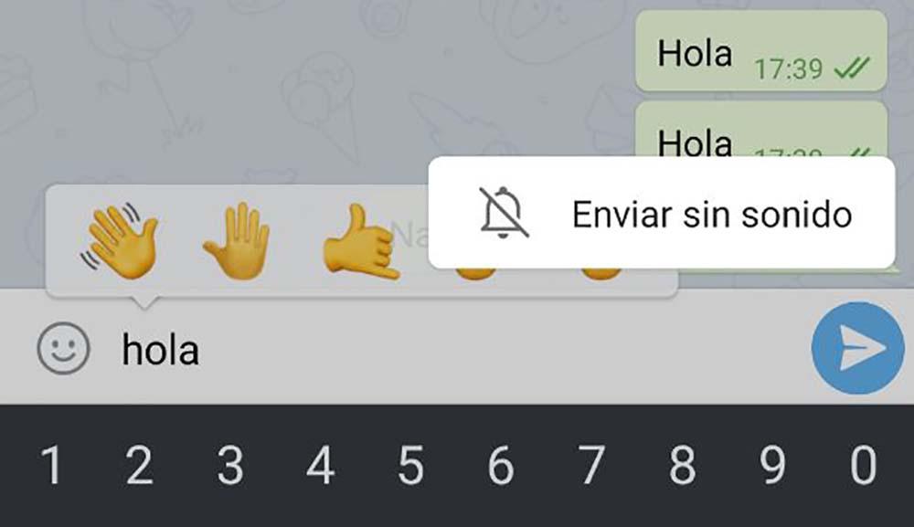 ارسال پیام بدون نوتیفیکیشن در تلگرام