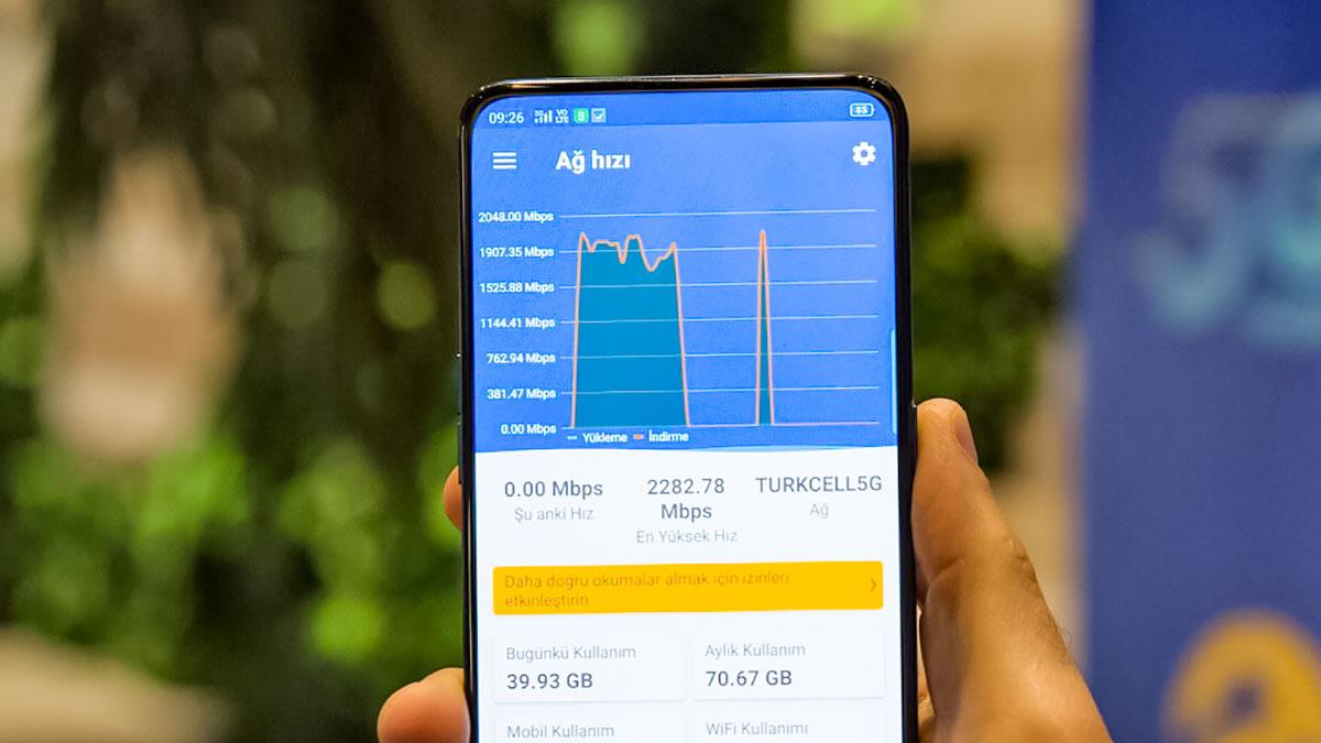 ترکیه رکورد سرعت اینترنت 5G را شکست: نزدیک به ۲.۳ گیگابیت بر ثانیه
