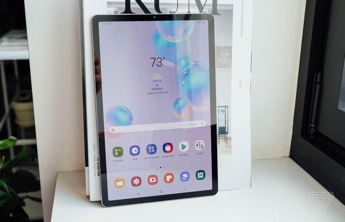 تبلت سامسونگ گلکسی تب اس ۶ (Galaxy Tab S6) با دوربین دوگانه و حسگر اثرانگشت یکپارچه با نمایشگر معرفی شد