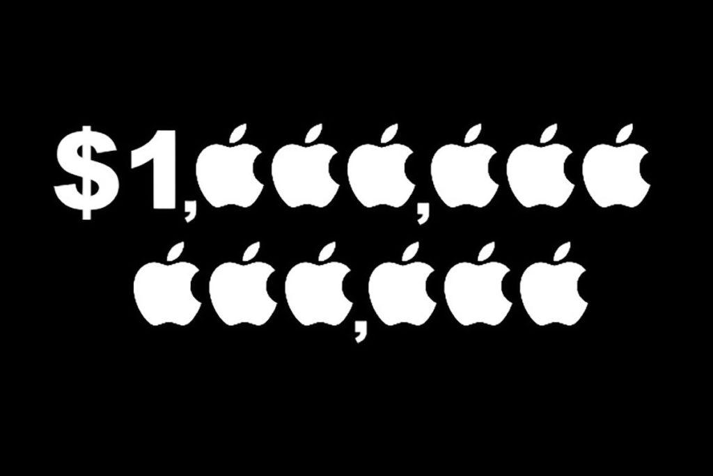 اپل تریلیون دلاری