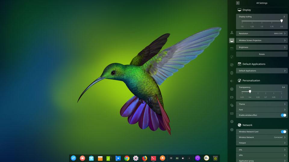 لپتاپ هواوی با لینوکس Deepin