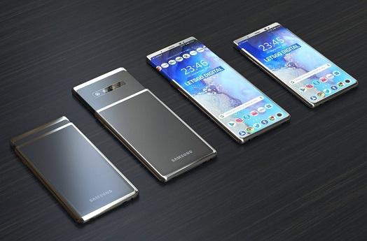 حق اختراع گلکسی اس ۱۱ پلاس (Galaxy S11 Plus) با نمایشگر کشویی قابل گسترش