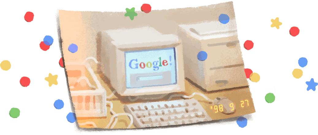 گوگل تولد ۲۱ سالگی خود را جشن گرفت