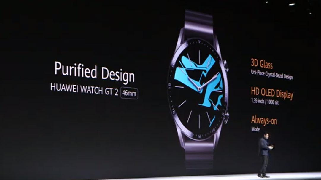 ساعت هوشمند هواوی واچ جی تی ۲ با عمر باتری ۱۴ روزه رسما معرفی شد