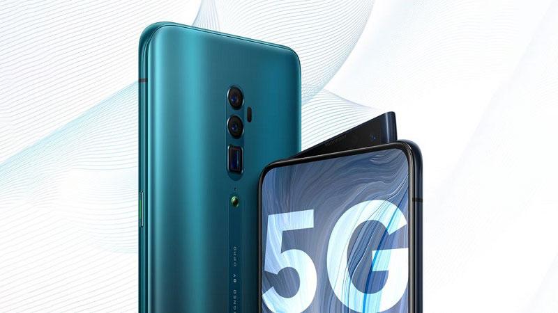 گوشی های 5G اوپو