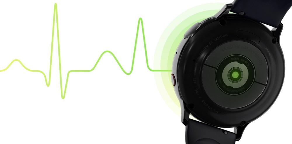 قابلیت ثبت نوار قلب گلکسی واچ اکتیو ۲