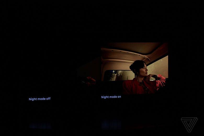 حالت عکاسی شب آیفون ۱۱ در کنفرانس اپل