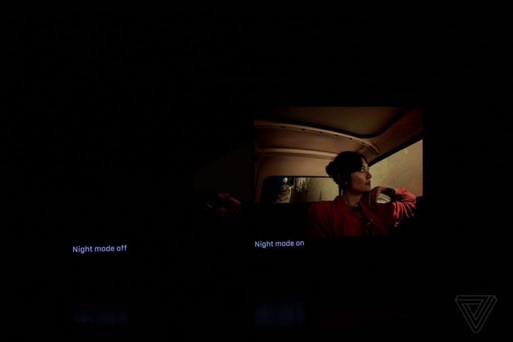 حالت شب عکاسی آیفون ۱۱ پرو