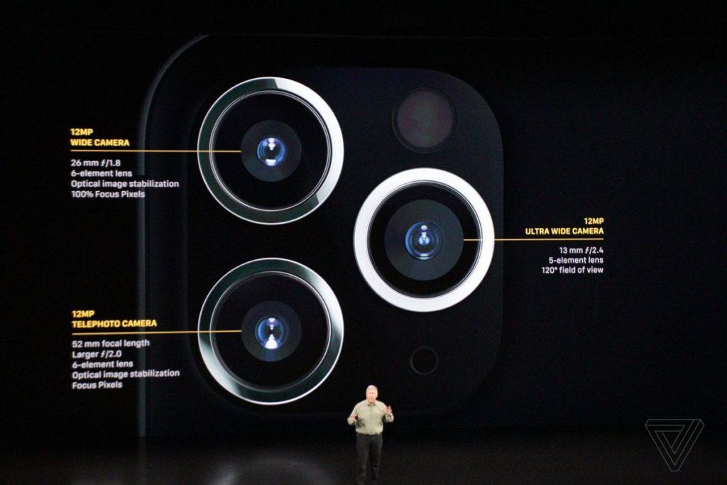 دوربین آیفون ۱۱ پرو