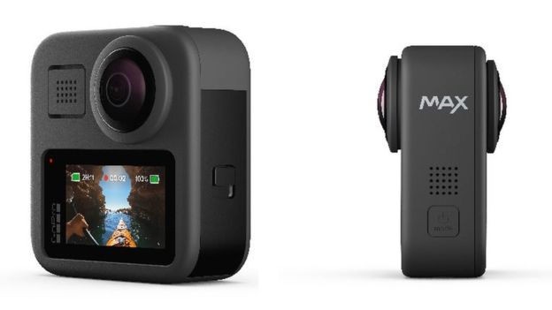 دوربین ورزشی ۳۶۰ درجه گوپرو هیرو مکس (GoPro Hero Max)