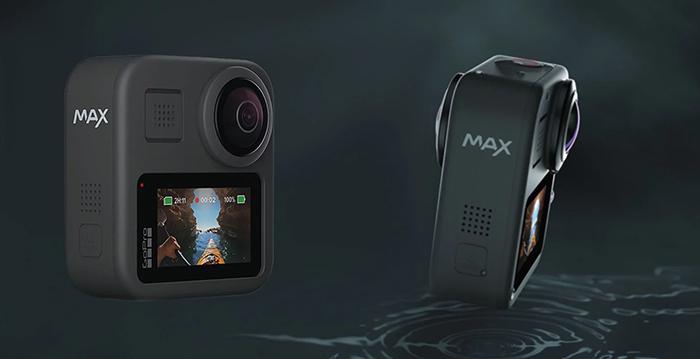 دوربین ورزشی ۳۶۰ درجه گوپرو هیرو مکس (GoPro Hero Max) رسما معرفی شد