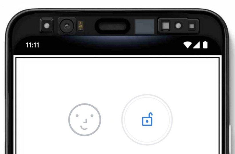 سیستم تشخیص چهره گوگل پیکسل ۴