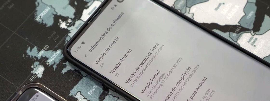 آپدیت اندروید ۱۰ گلکسی اس ۱۰ با One UI 2.0