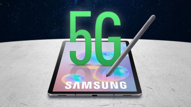 اولین تبلت 5G دنیا را سامسونگ ارایه خواهد کرد