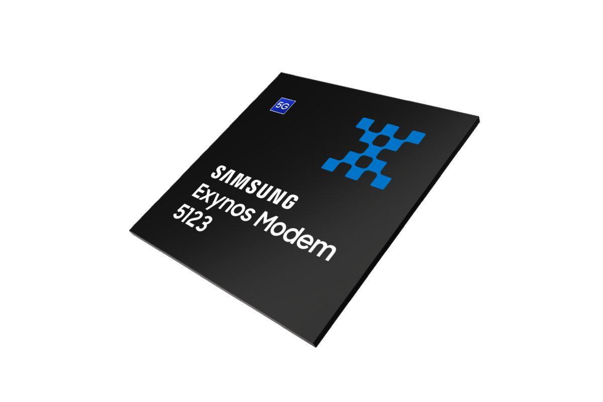 مودم 5G سامسونگ اگزینوس ۵۱۲۳ (Exynos 5123) با سرعت ۷.۵ گیگابایت برثانیه روی 5G و ۳ گیگابیت برثانیه روی 4G رسما معرفی شد
