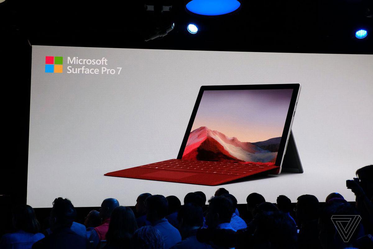 مایکروسافت سرفیس پرو ۷ با پورت USB C رسما معرفی شد