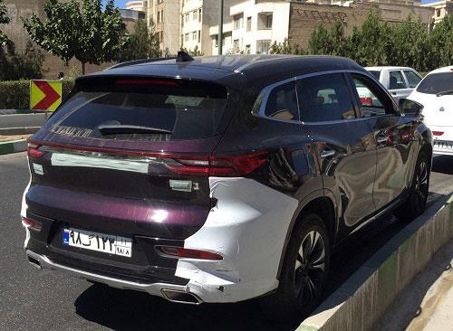 چری تیگو ۸ در تهران