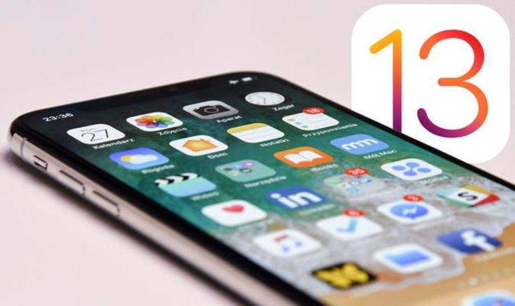 سیستم عامل iOS 13