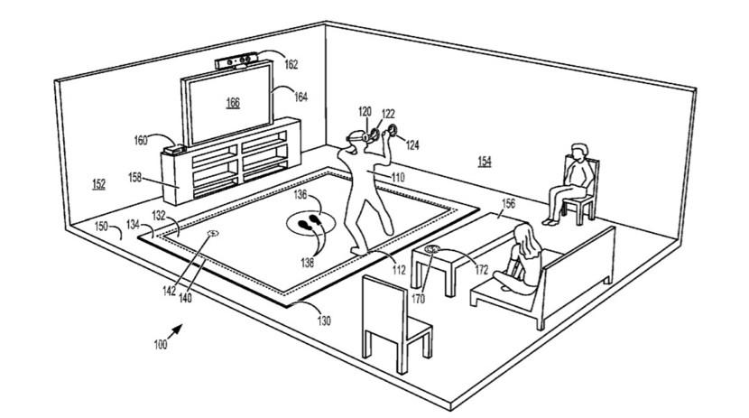 حق اختراع مایکروسافت برای واقعیت مجازی جدید Xbox