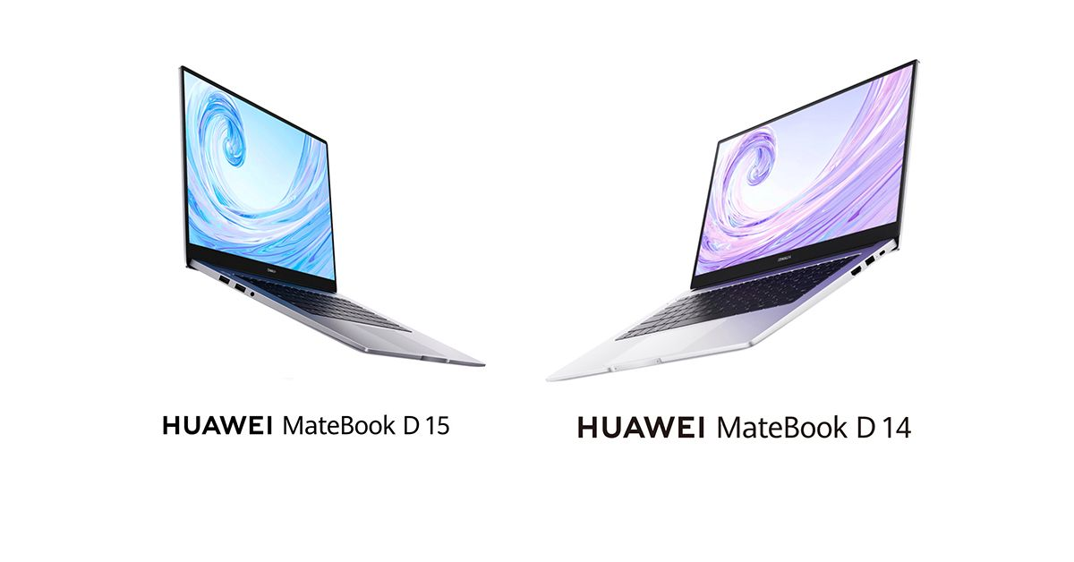 دو لپتاپ هواوی میت بوک دی (Matebook D) در اندازه های ۱۴ و ۱۵ اینچ رسما معرفی شدند