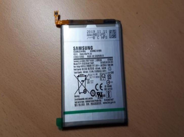 حجم باتری گلکسی ای ۷۱ 5G