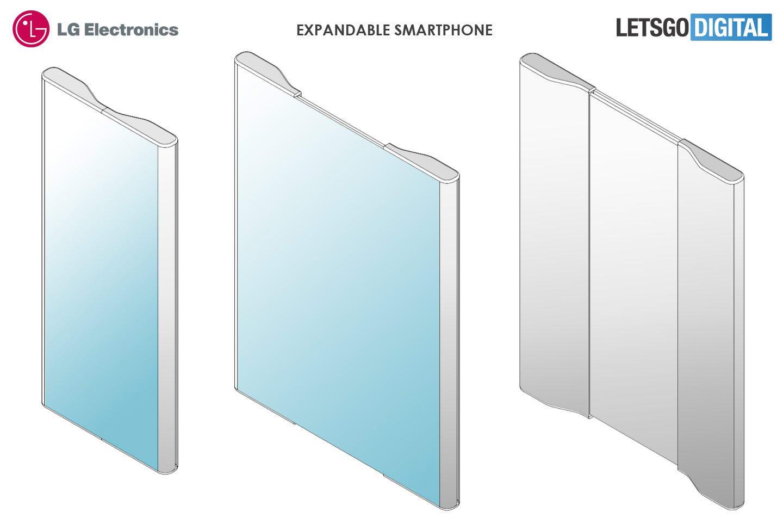 حق اختراع عجیب گوشی منعطف ال جی را ببینید