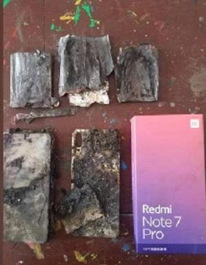 آتش گرفتن ردمی نوت ۷ پرو