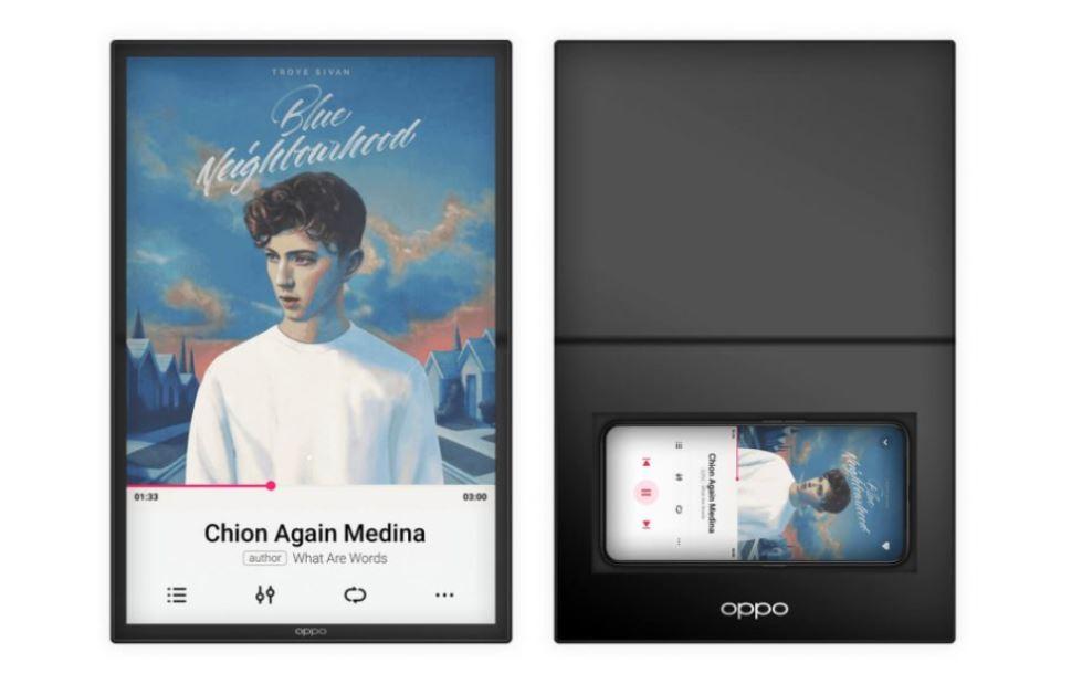 حق اختراع اوپو برای تبلت تاشو با الهام از طرح ایسوس Padfone X