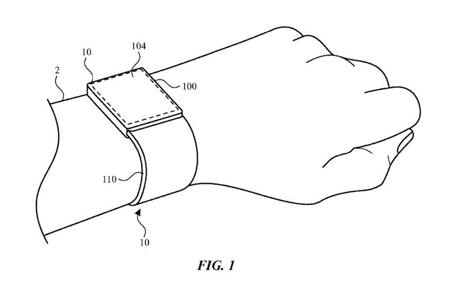 حسگر اثرانگشت یکپارچه با نمایشگر اپل واچ در حق اختراع اپل دیده شد
