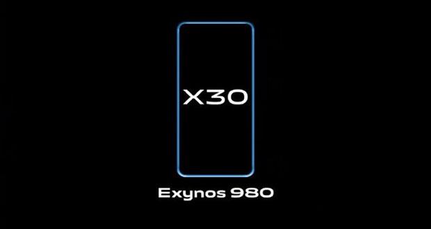ویوو ایکس ۳۰ (Vivo X30) با اگزینوس ۹۸۰ ارایه خواهد شد