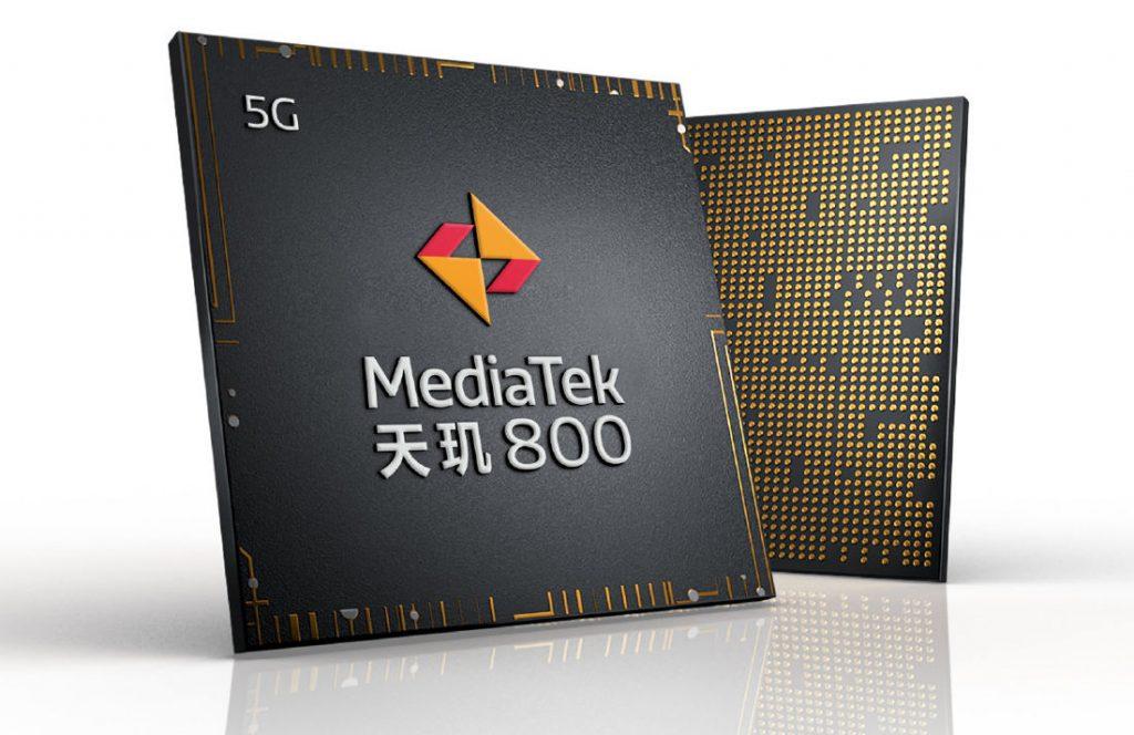 چیپست 5G میان رده مدیاتک دایمنسیتی ۸۰۰ (Dimensity 800) رسما معرفی شد