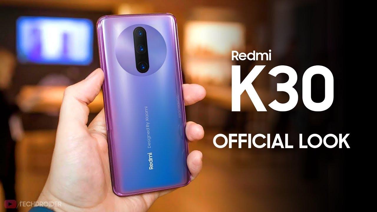 ردمی کی ۳۰ (Redmi K30) را پیش از معرفی ببینید