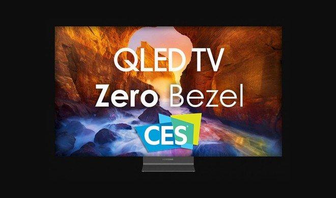 تلویزیون بدون قاب سامسونگ در CES 2020